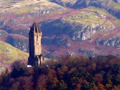 The Wallace Monument, Stirling, Scotland.