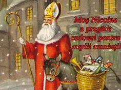 POZE SF NICOLAE   Imagini Mos Nicolae - Poze cu Mos Nicolae de Facebook St Nicholas Day, Santa Pictures, Happy Halloween, Ronald Mcdonald, Christmas Ornaments, Holiday Decor, Painting, Fictional Characters, Holidays