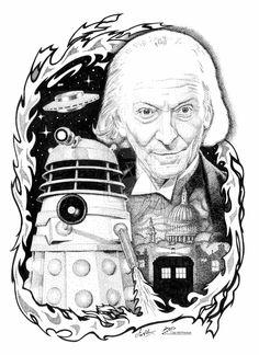 Doctor Who - Dalek Invasion by iancan.deviantart.com on @deviantART