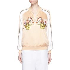 ASOS Made In Kenya Embroided Jersey Bomber | embroidery | Pinterest | Kenya  and Embroidery