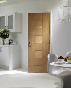 Messina Oak Internal Door #contemporarydoors