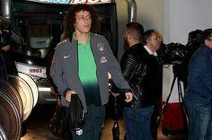 Chegando no estádio em Buenos áries.