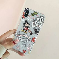 Sparkly Phone Cases, Iphone Cases Disney, Black Girl Art, Mickey Minnie Mouse, Coque Iphone, New Phones, Disney Art, Graffiti, Gadgets