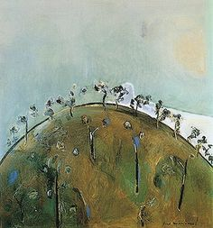 """""""Hillock"""" by Fred Williams (1965-1966) via Fred Williams."""