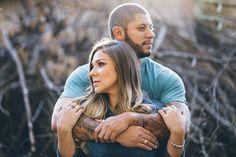 Ensaio pre-wedding em meio à natureza – Raquel