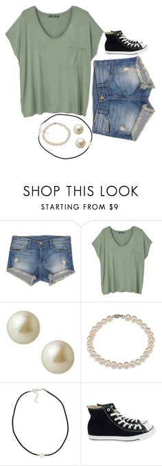""";)    ;)"" by kenzie75 on Polyvore featuring Flying Monkey, MANGO, Carolee, DaVonna, NLY Accessories and Converse"