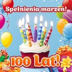Kartki urodzinowe. Kartka – Spełnienia marzeń! #urodziny #kartki #stolat #torcik Impreza, Birthday Candles, Quotations, Happy Birthday, Humor, Diy, Polish, Facebook, Poland