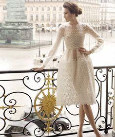 valentino off white dress Lingerie Look, High Fashion, Womens Fashion, Fashion Glamour, Looks Style, Mode Inspiration, Dream Dress, Dress Me Up, Pretty Dresses