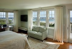Look at the view!!!! To have a bedroom with two walls of windows too... sigh...