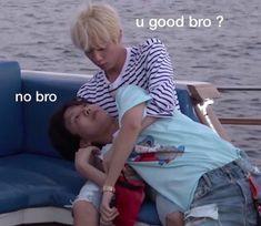 """I need more memes of BTS so if you would kindly drop me pics that you have. Bts Jin, Jimin, Namjoon, Taehyung, Seokjin, Bts Meme Faces, Funny Faces, K Pop, V Chibi"