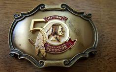 Washington Redskins 1937-1986 50th Anniversary Belt Buckle by Raintree in Sports Mem, Cards & Fan Shop, Fan Apparel & Souvenirs, Football-NFL | eBay