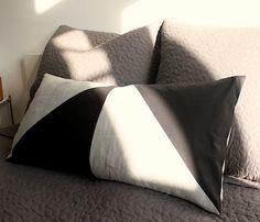 Geometric pillow DIY