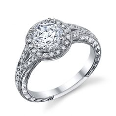 Diamond Engagement Ring (#k14400dc-r) - Engagement Rings Solitaire - Designer Engagement Rings, Fine Jewelry & More. Serving San Carlos, Redwood City, Belmont, Foster City, San Mateo & the entire bay area.