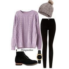 Comfy winter attire.