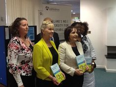 Chapter authors at launch 16.05.2013