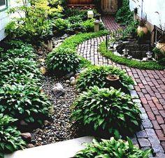Rain Garden Design Landscaping Front Yards_49