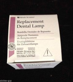 Henry Schein Replacement Dental Lamp #101-0045