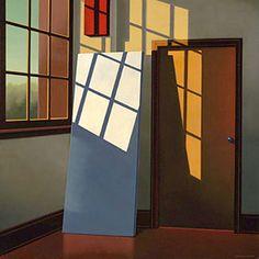 "R. KENTON NELSON  ""A BLANK CANVAS"" 24 x 24 INCHES  2005"