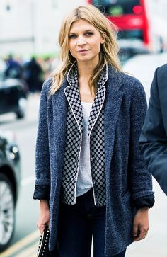 8. Sneak a pajama top in under your jacket.