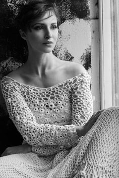Dziana Moda: Wyszydełkowane sukienki