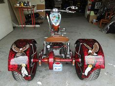 Harley-Davidson Trike customised by PAZ.