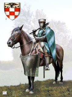 An knight in Ireland in the 12th Century would look similar.