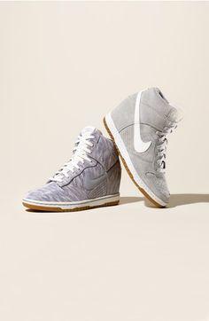 newest 5205c 85542 ... Nike Dunk Sky Hi Womens Shoe kicks Pinterest Nike dunks, Woman shoes  and Shoes ...