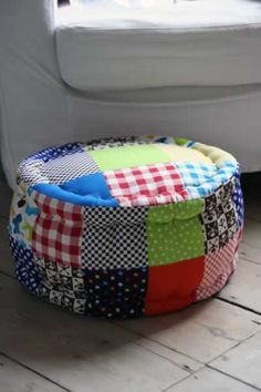 patchwork cushion - family room and 1 each for the kids?