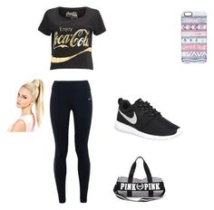 """""""Gym"""" by aruta on Polyvore featuring NIKE and Casetify"""