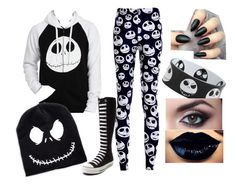 """""""Perfect Halloween outfit"""" by madisontyler43 ❤ liked on Polyvore featuring beauty and Converse"""