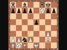 Chess Openings: Traxler Counter Attack - this is very important to learn because a lot of aggressive players like me will use the Italian Game or the Fried Liver Attack