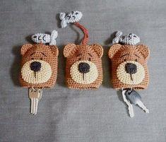 Best 12 No pattern – for sale. Crochet Wallet, Crochet Case, Crochet Keychain, Bead Crochet, Crochet Crafts, Yarn Crafts, Crochet Toys, Crochet Projects, Crochet Key Cover
