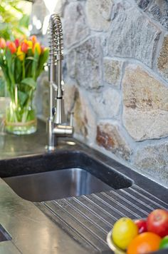Adera Natural Stone Supply provides Canada with professional natural stone finishing. We custom fabricate the stones to provide a polished finish for any custom design. Natural Stones, Custom Design, It Is Finished, Nature, Fabric, Canada, Patio, Home Decor, Outdoor