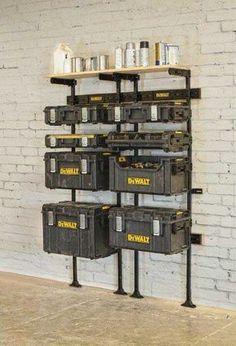 Dewalt Cabinet Storage Tools Amp Parts Storage Dewalt Tools Garage Tools Garage Workshop