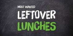 Leftover Lunches - which #recipe do you cook when you're creating leftovers for weekday lunches? #VCLeftoverLunches