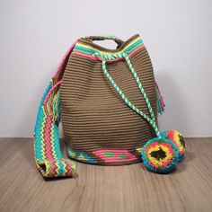 5 отметок «Нравится», 2 комментариев — Craftmatters (@craftmattersshop) в Instagram: «Traditional Mochilas Wayuu Bag (Size L) Price: 3600 THB free EMS in Thailand Line: craftmatters…»