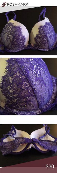 Dream Angels 34C Purple Victoria's Secret Bra Beautiful bra kept in a smoke free home! Victoria's Secret Intimates & Sleepwear Bras