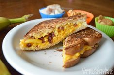 Bacon Macaroni and Cheese Grilled Cheese easy kids lunch recipe