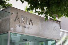 Ária - Melnick Even /STUDIOMDA Wayfinding Design
