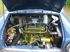 MK1 Morris Mini Cooper S Engine bay