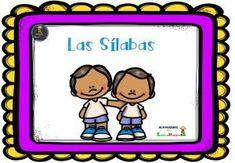Super Cuaderno para trabajar las sílabas conciencia silábica -Orientacion Andujar