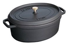 French Oven - Oval - 4.2 L - Black