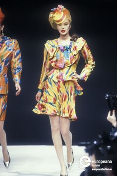 Emanuel Ungaro, Spring-Summer 1992, Couture on www.europeanafashion.eu