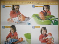 Vroeger klein, nu al groot - Lies Azou - Picasa Webalbums. with a doll Dramatic Play Area, Having A Baby, Life Skills, Baby Pictures, New Baby Products, Activities For Kids, Baby Baby, Preschool, Babys