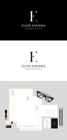 PORTFOLIO FILIPE ESPINHA LOGO Branding, Portfolio, Corporate Identity, Pimples, Mottos, Brand Management, Identity Branding, Visual Identity