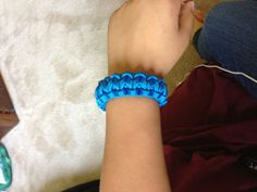 If I get more than 150 likes or repins I will pin a video how to make this braclet in 5 min or less. And i will follow you