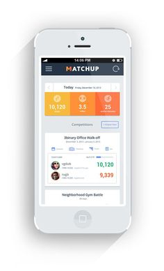 Compete with Fitbit and JawboneUP friends on Matchup. Choose from head-to-head competitions or goal challenges- get active and stay excited about it. Sign up for beta account today by visiting us at www.matchup.io    Jump ahead of the line by joining one of our open-competitions/challenges here: https://matchup.io/group/open-competitions: