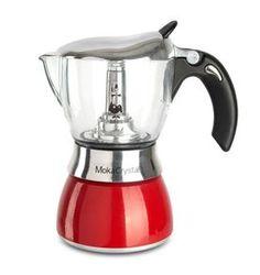 Bialetti Moka Crystal Red - 4 cup