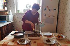 Mamina babka ziemniaczana z gulaszem