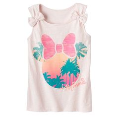 Disney's Minnie Mouse Tropical Bow Tank by Jumping Beans® - Girls 4-7
